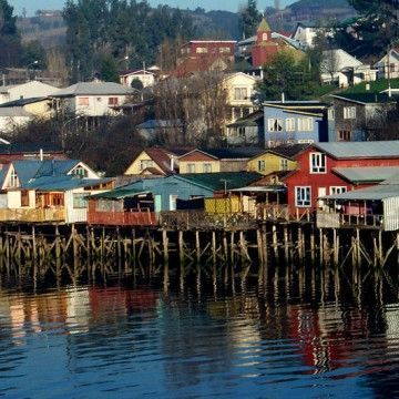 Chiloe, magic. Also known as Greater Island of Chiloé, is the largest island of the Chiloé Archipelago off the coast of Chile, in the Pacific Ocean.